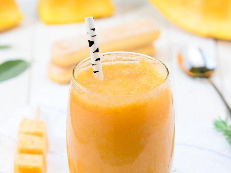 Smoothie-de-naranja,-irresistible